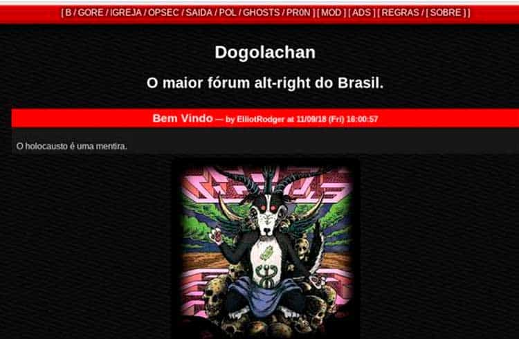 Massacre de Suzano é planejado em fórum criado por desenvolvedor da BolsoCoin