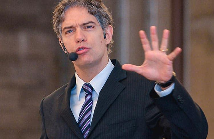 Economista Ricardo Amorim fala sobre Bitcoin em evento em São Paulo