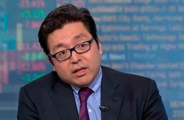 Tom Lee diz que o preço do Bitcoin pode voltar a subir até agosto