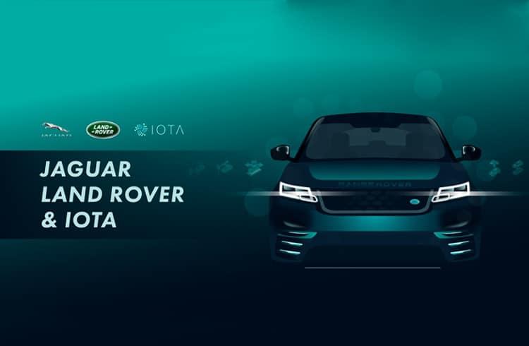 Jaguar faz parceria com IOTA e já testa carros com criptomoeda