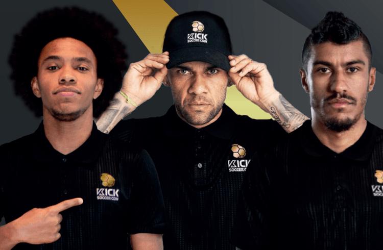 Craques da seleção brasileira Daniel Alves, William e Paulinho lançam criptomoeda própria