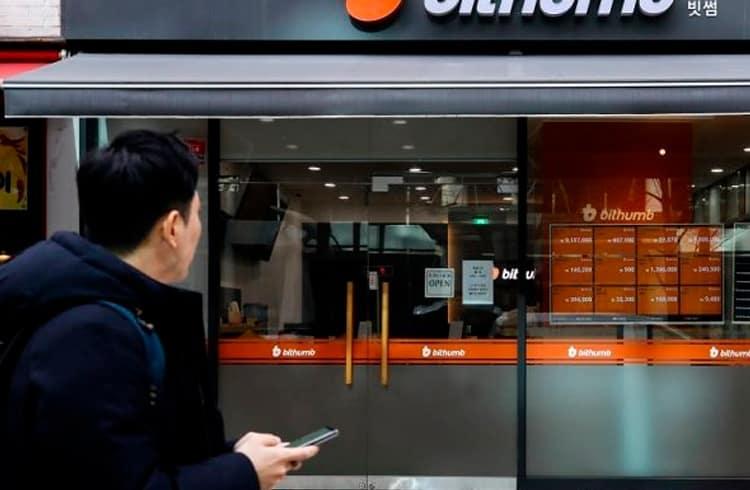 Maior exchange da Coreia do Sul Bithumb registra perda de US$180 milhões em 2018