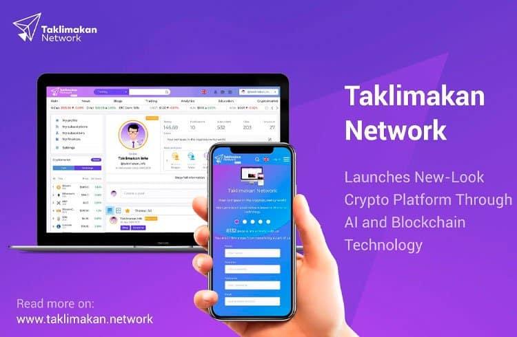 Taklimakan Network lança nova plataforma cripto através da tecnologia AI e Blockchain