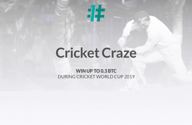 OneHash Captura a Mania do Cricket Começando com uma Enorme Competição de $ 2.500 + Giveaway na Cricket World Cup
