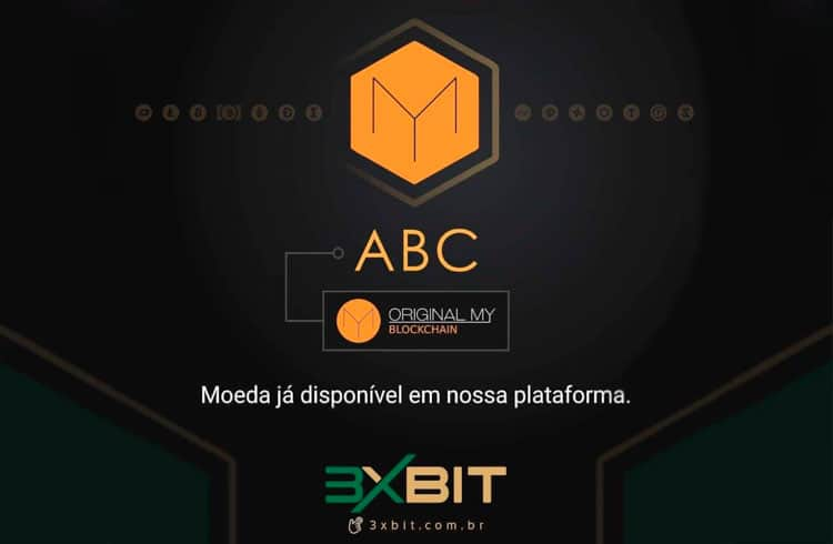 3xBit adiciona o token ABC da OriginalMy