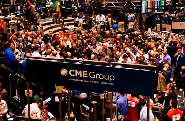 Lucro do Grupo CME cai 17% no 1º tri e volume de negociação de Futuros de BTC bate recorde em abril