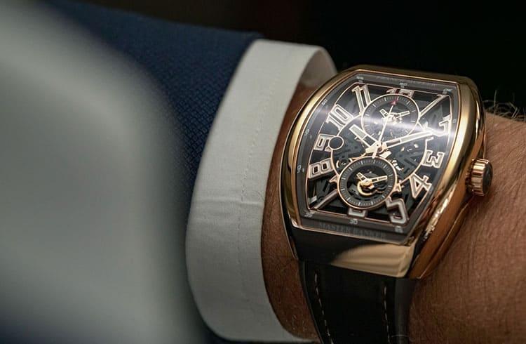 Fabricante de relógios de luxo fará edição especial baseada em Bitcoin