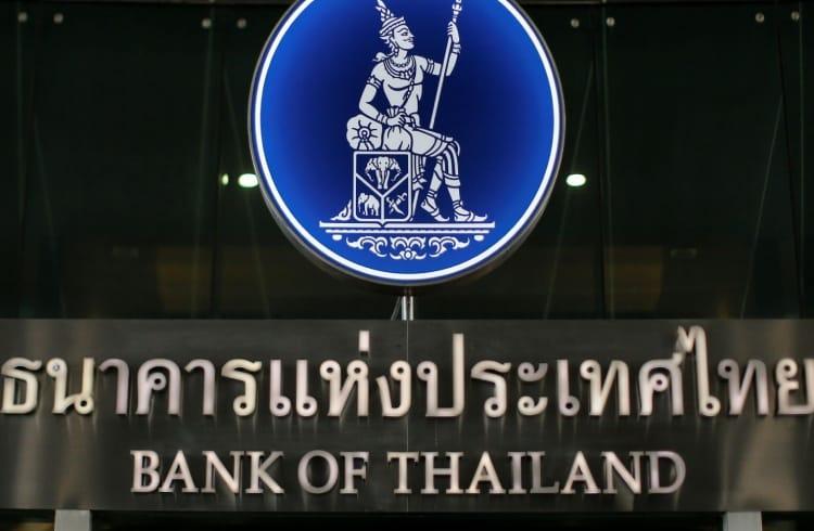 Projeto de moeda digital do Banco Central da Tailândia está sendo finalizado