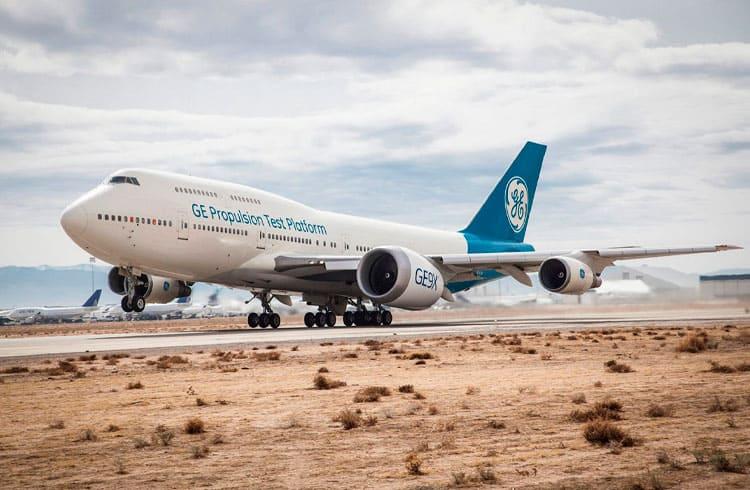 GE utiliza blockchain da Microsoft e do Ethereum para prevenção de acidentes de avião