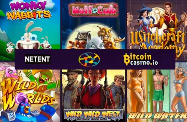 BitcoinCasino.io adiciona conteúdo NetEnt para jogadores fiduciários