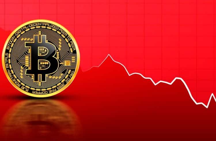 Bitcoin cai abaixo dos US$8 mil; Mercado de criptoativos desvaloriza US$21 bilhões nas últimas 24 horas