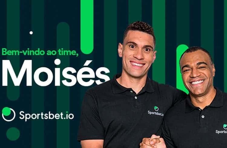 Moisés do Palmeiras é a nova contratação do site de apostas Sportsbet.io
