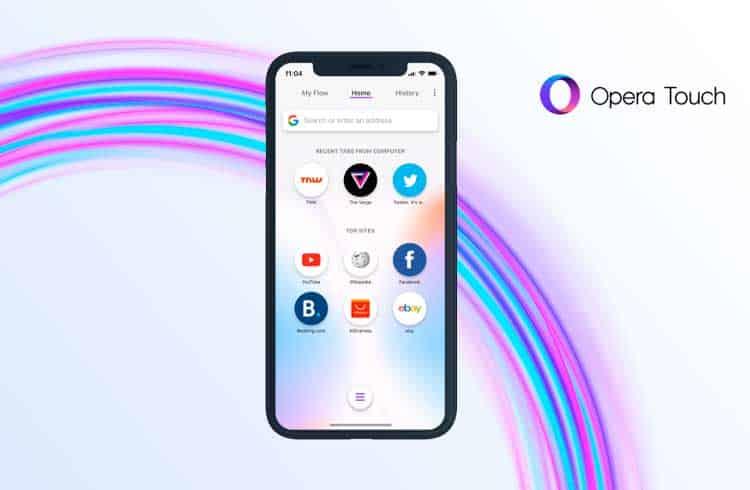Opera disponibiliza navegador integrado com carteira de criptomoedas também para iPhones