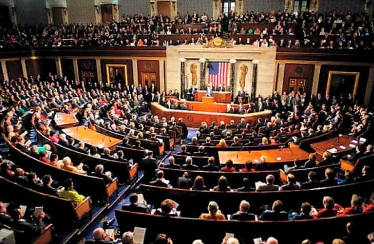 Legisladores dos Estados Unidos querem proibir grandes empresas de emitirem criptomoedas