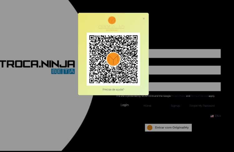 Solução de autenticação de ID da OriginalMy também é aplicada à Troca Ninja