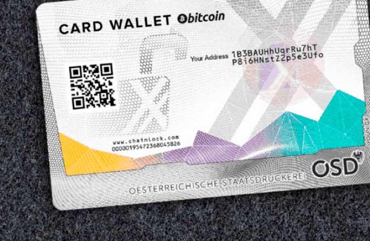 Empresa de passaportes da Áustria lança carteira de hardware para criptomoedas