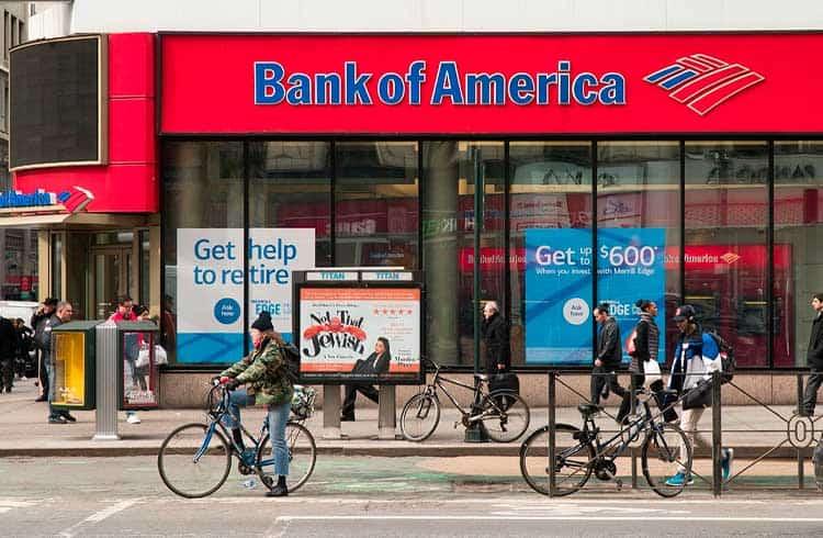 Bank of America cita blockchain da Ripple em novo registro de patente