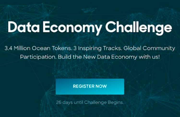 Ocean Protocol lança desafio global de economia de dados com 3,4 milhões de token de recompensa