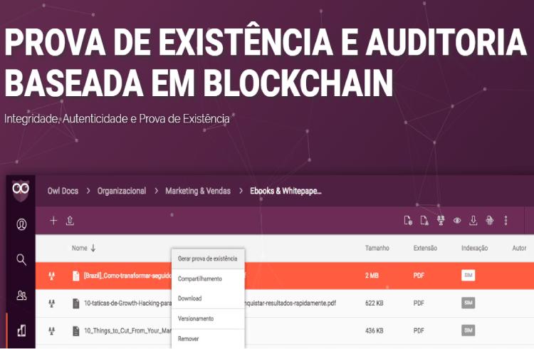 Startup brasileira desenvolve solução para armazenar e autenticar em blockchain