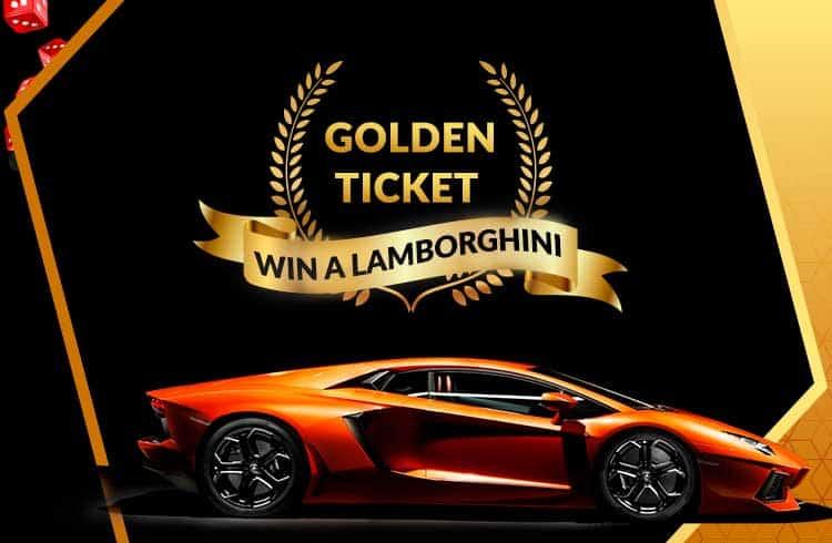 FreeBitco.in oferece de prêmio uma Lamborghini no Golden Ticket