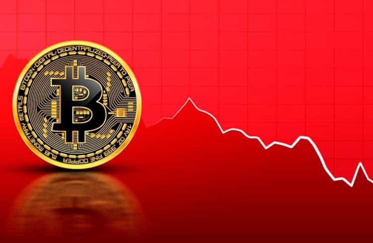 Mercado de criptoativos desvaloriza US$12 bilhões em movimento liderado pelo Bitcoin