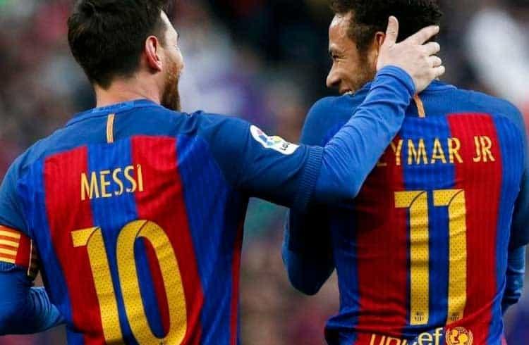 Neymar e Messi ganhariam mais de 6 mil Bitcoins ao ano se recebessem seus salários na criptomoeda