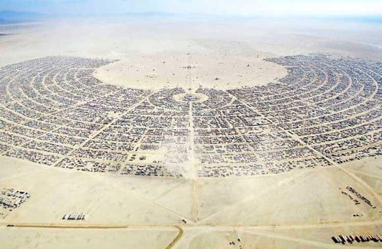 O Bitcoin e o festival Burning Man; Ligados pela mesma filosofia