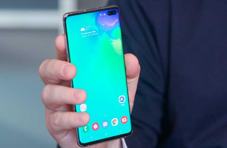 Samsung expande serviços para o Galaxy S10 relacionados à blockchain