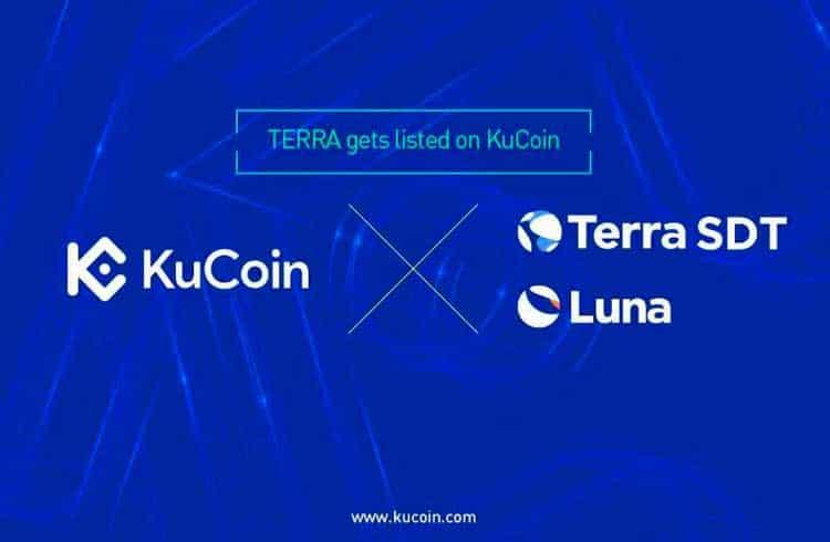 Stablecoin Terra e o token de mineração Luna foram listado na exchange KuCoin