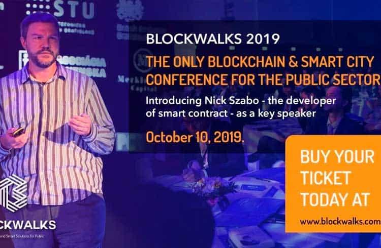 BLOCKWALKS 2019: como o Blockchain melhorará as administrações governamentais e a vida de seus cidadãos