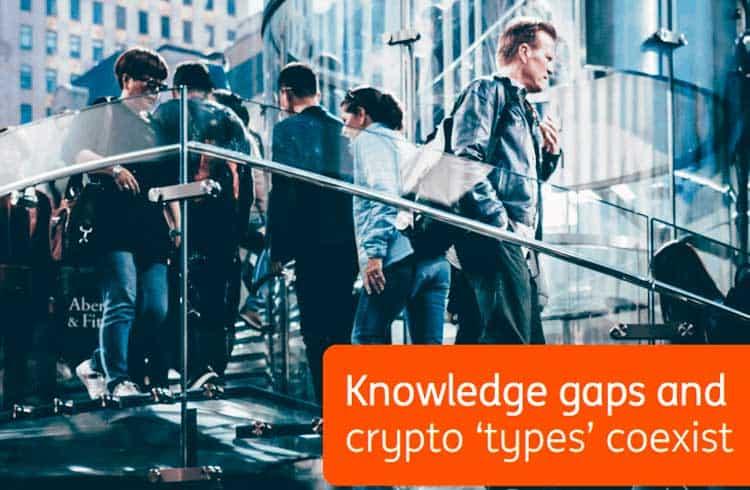 Pesquisa aponta que pessoas que sabem menos sobre cripto são mais positivas sobre seu futuro
