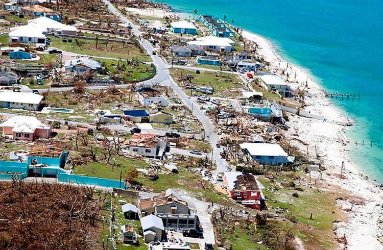 Tether doará US$1 milhão para cidades impactadas pelo furacão Dorian