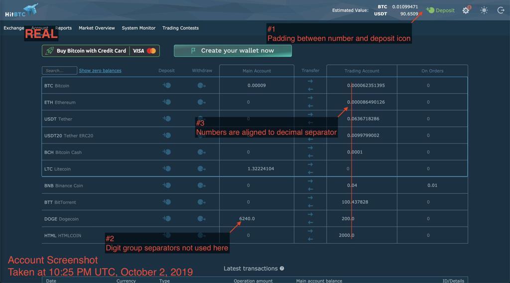 Print de como seria a plaaforma HitBTC