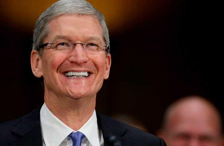 Emissão de dinheiro é para governos e não para empresas privadas, diz CEO da Apple