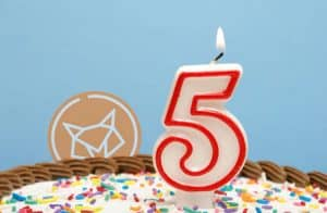 Foxbit zera taxas para compra e venda de criptomoedas em comemoração ao seu aniversário