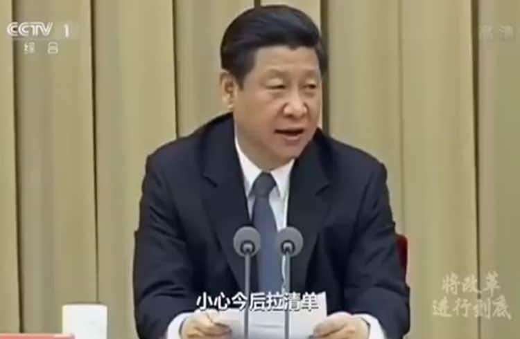Presidente da China chama criptomoedas de fraudes financeiras
