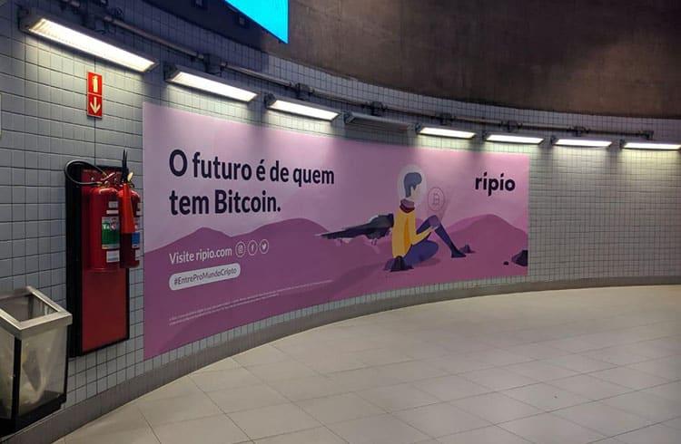 Ripio exibe anúncios em estações de metrô e aeroporto em São Paulo
