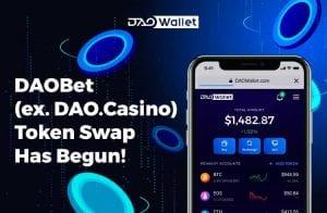A DAOBet (ex. DAO.Casino) foi iniciada: hora de reivindicar tokens BET