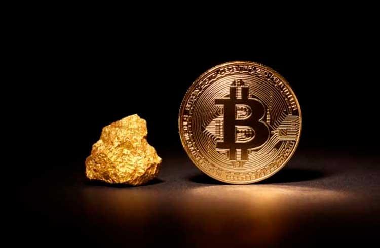 Bitcoin supera o ouro pela primeira vez desde junho