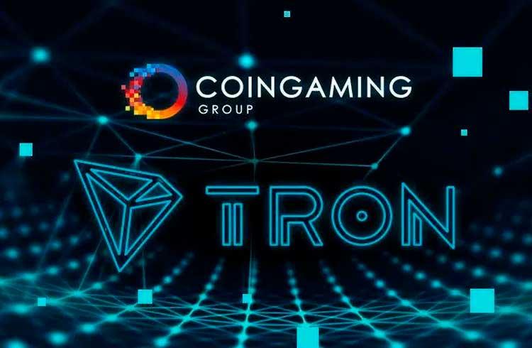 Coingaming Group faz parceria com a Fundação TRON