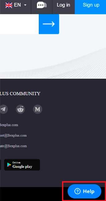 Bexplus (verifique o endereço abaixo na página principal).