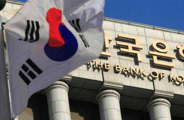 Banco Central da Coreia do Sul cogita emissão de criptomoeda própria