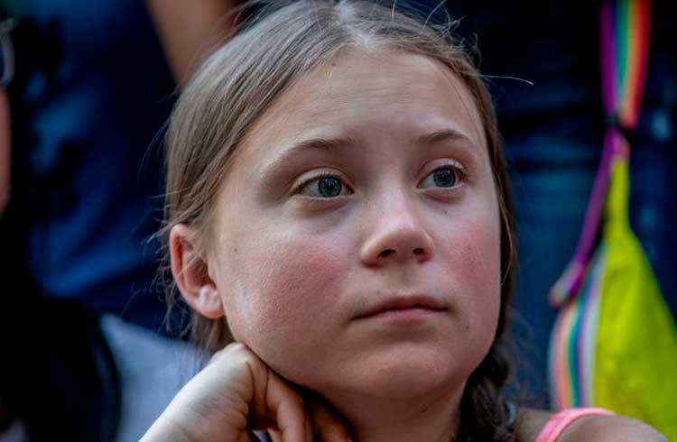 Justin Sun promete doar US$1 milhão para os esforços de Greta Thunberg