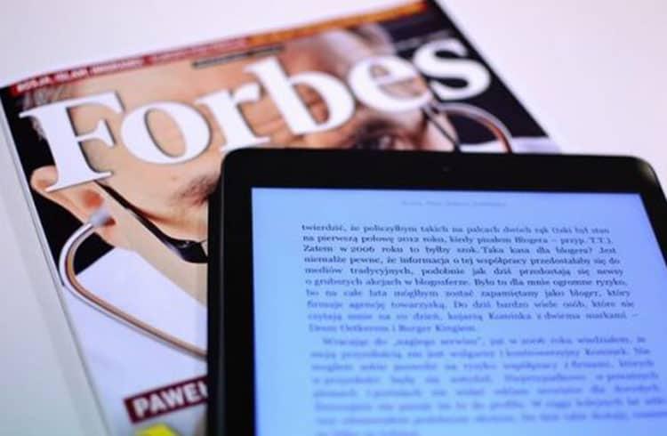 Forbes adiciona Ethereum como opção de pagamento por assinatura
