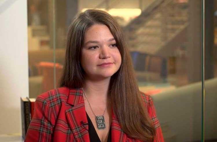 Brittany Kaiser destaca a blockchain como ferramenta para privacidade de dados