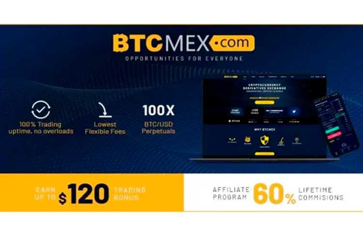 BTCMEX lança seu programa de afiliados e com bônus de negociação de até US$120