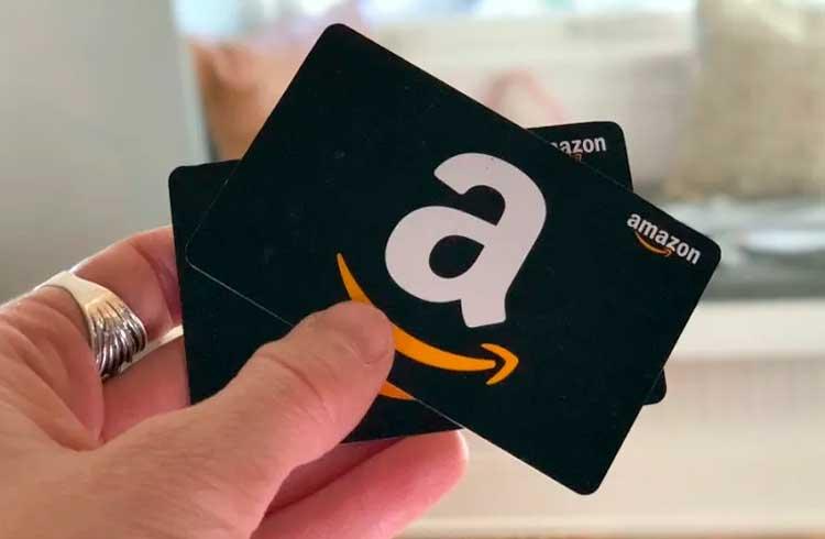 Cartões-presente da Amazon poderão ser comprados com token XRP
