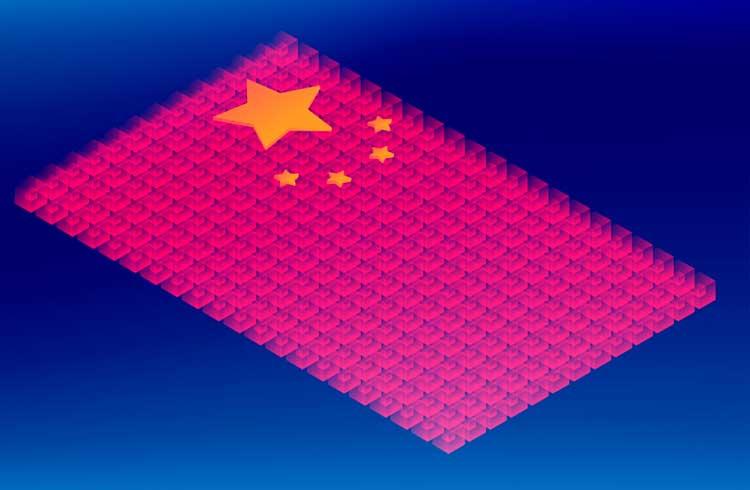 China revela que está trabalhando em projetos de blockchain com Reino Unido