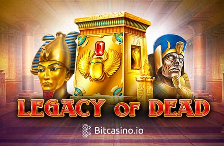 Legacy of Dead: um dos slots mais famosos do momento chega ao Bitcasino.io