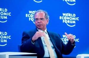 Paulo Guedes participa do painel sobre Libra e papel do Dólar como reserva mundial
